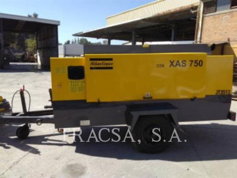 ATLAS-COPCO COMPRESOR DE AIRE XAS750CD equipment  photo 5