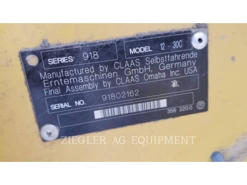 LEXION COMBINE Rabatteurs 12-30C equipment  photo 3