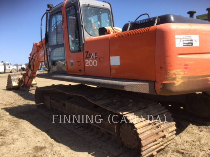 HITACHI EXCAVADORAS DE CADENAS ZX200LC equipment  photo 4