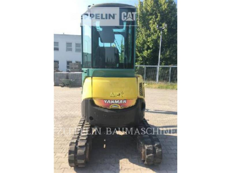 YANMAR KOPARKI GĄSIENICOWE VIO25-4 equipment  photo 6