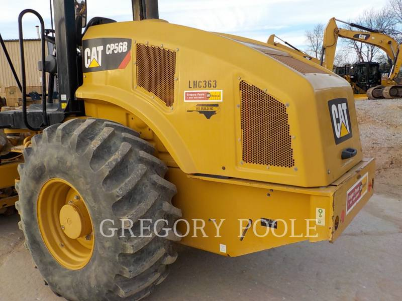 CATERPILLAR COMPACTEUR VIBRANT, MONOCYLINDRE À PIEDS DAMEURS CP-56B equipment  photo 10