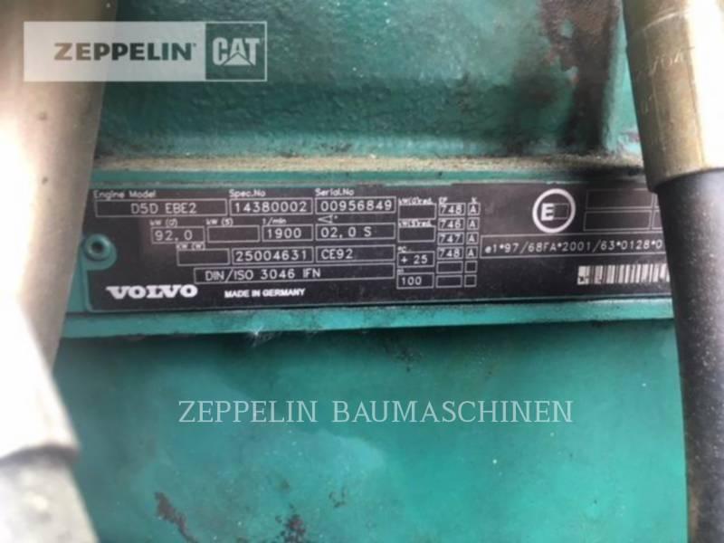 VOLVO CONSTRUCTION EQUIPMENT MOBILBAGGER EW140B equipment  photo 16