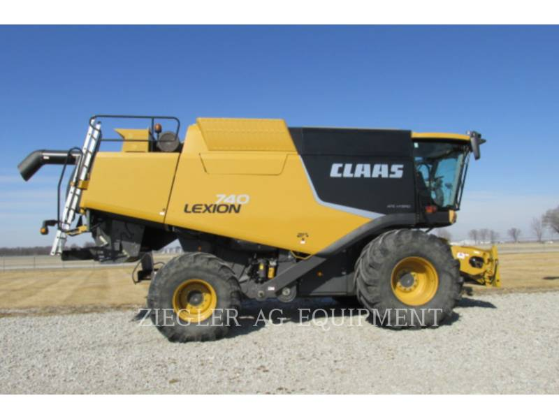 LEXION COMBINE COMBINADOS 740 equipment  photo 2