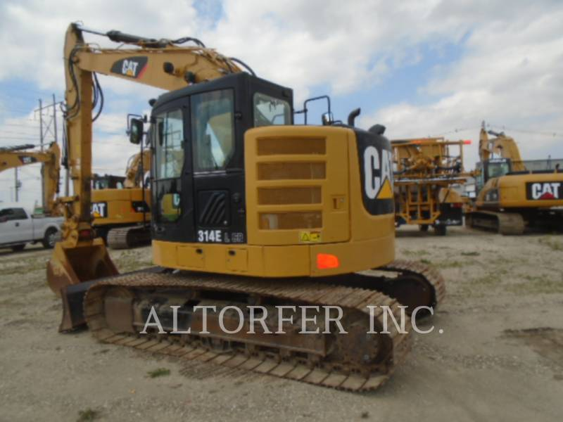 CATERPILLAR TRACK EXCAVATORS 314EL CR equipment  photo 3