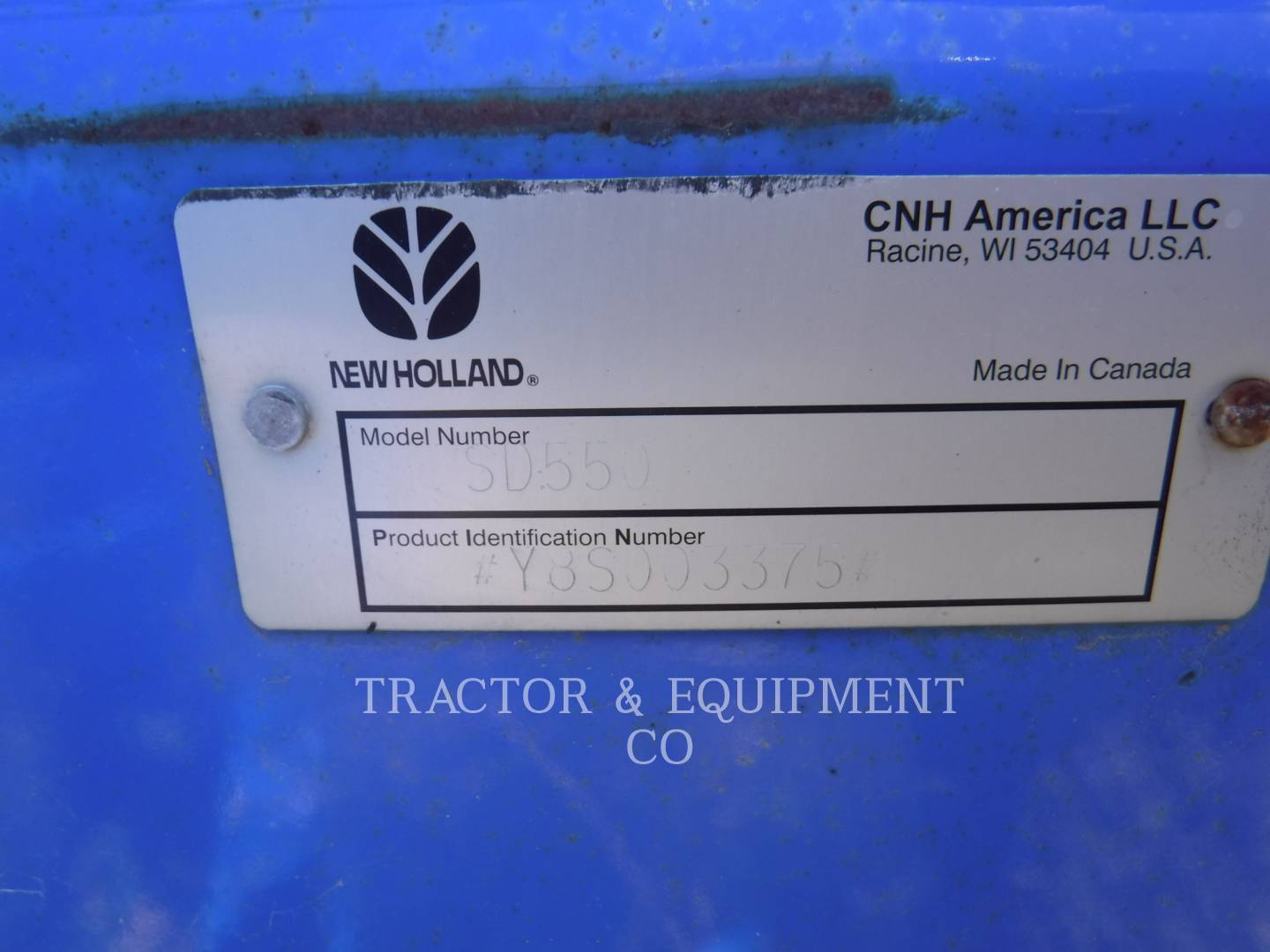 Detail photo of 2000 Ford SD550 from Construction Equipment Guide