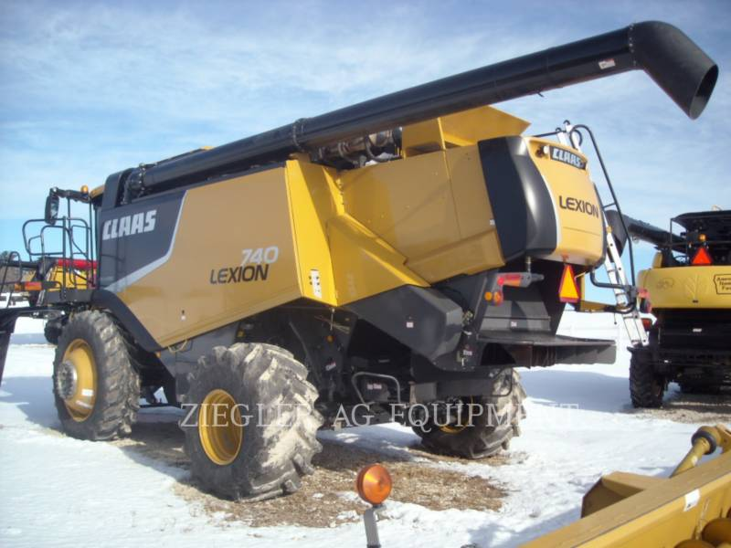 LEXION COMBINE COMBINES 740 equipment  photo 5