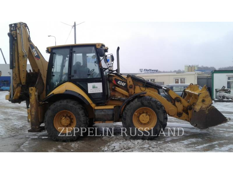 CATERPILLAR KOPARKO-ŁADOWARKI 434F equipment  photo 1