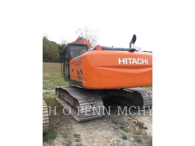 HITACHI PELLE MINIERE EN BUTTE ZX250LC-5 equipment  photo 1
