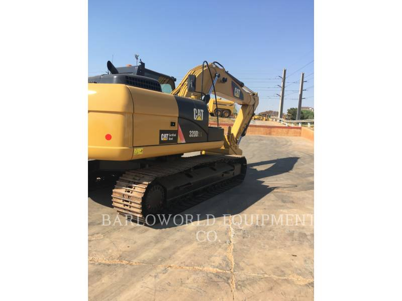CATERPILLAR PELLE MINIERE EN BUTTE 320D equipment  photo 3