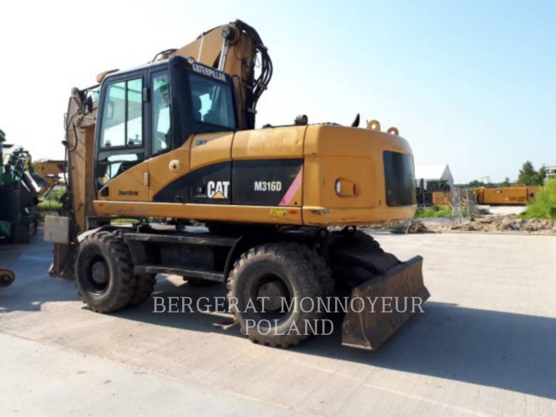 CATERPILLAR WHEEL EXCAVATORS M316D equipment  photo 3