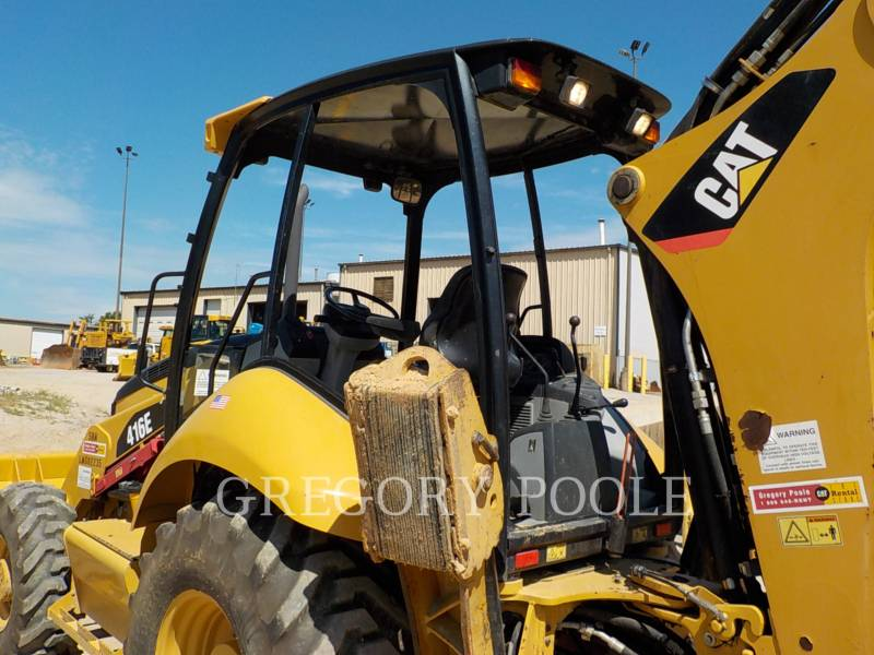 CATERPILLAR RETROEXCAVADORAS CARGADORAS 416E equipment  photo 8