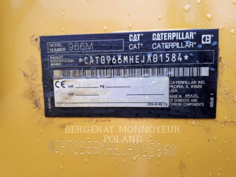 Caterpillar ÎNCĂRCĂTOARE PE ROŢI/PORTSCULE INTEGRATE 966 M equipment  photo 5