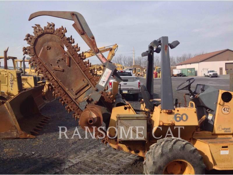 CASE TRANCHEUSES 660 equipment  photo 4
