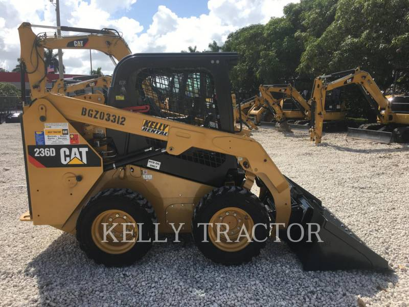 CATERPILLAR MINICARREGADEIRAS 236D equipment  photo 6