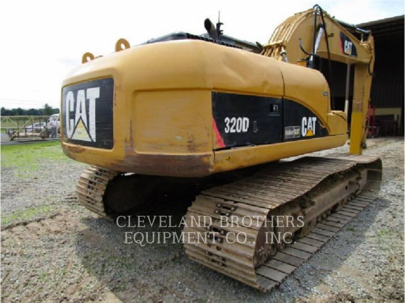 CATERPILLAR ESCAVATORI CINGOLATI 320DL equipment  photo 4
