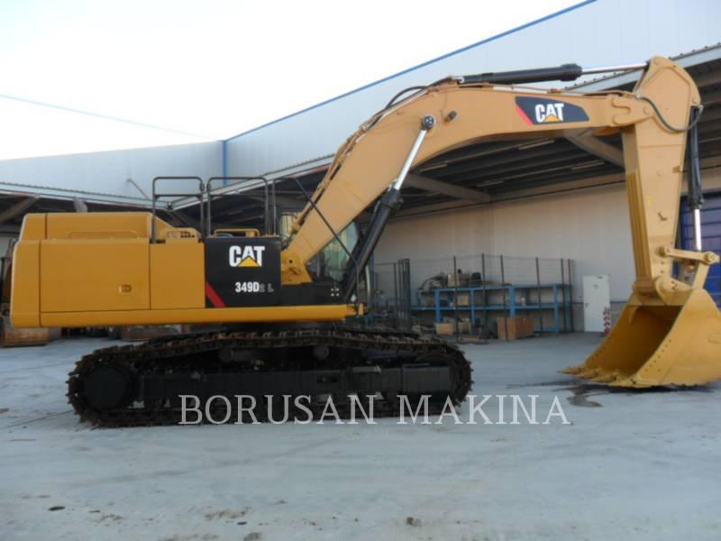 CATERPILLAR MINING SHOVEL / EXCAVATOR 349D equipment  photo 1