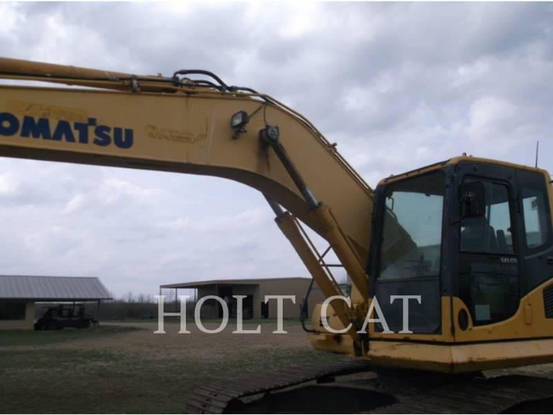 KOMATSU KETTEN-HYDRAULIKBAGGER PC200LC-8 equipment  photo 4