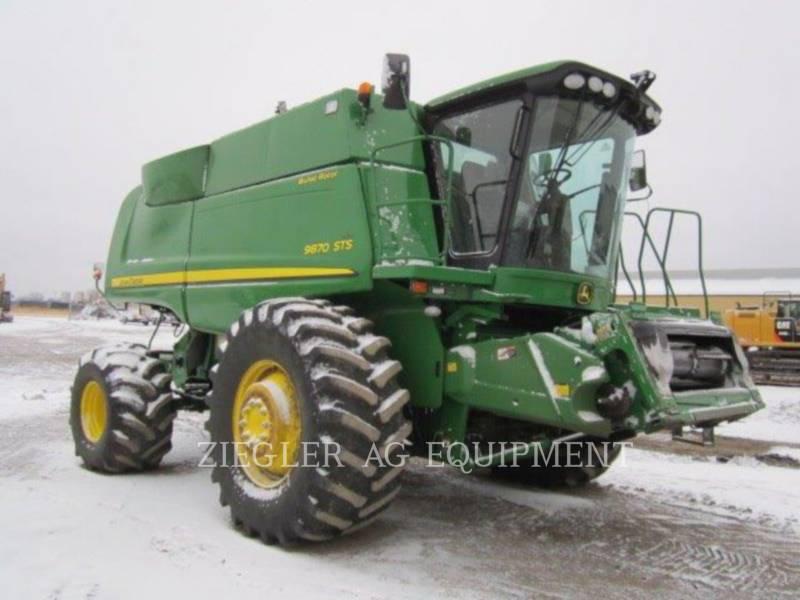 DEERE & CO. COMBINES 9870STS equipment  photo 10