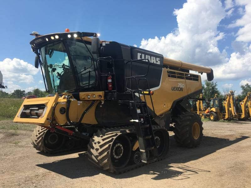 CLAAS OF AMERICA COMBINÉS LEXION 750 equipment  photo 1