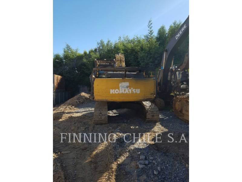 KOMATSU EXCAVADORAS DE CADENAS PC200LC equipment  photo 2
