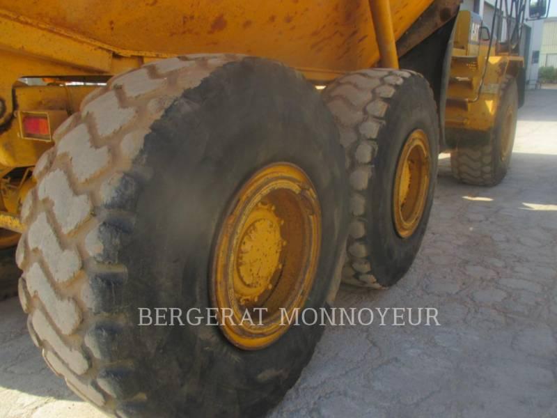CATERPILLAR KNICKGELENKTE MULDENKIPPER D250EII equipment  photo 6