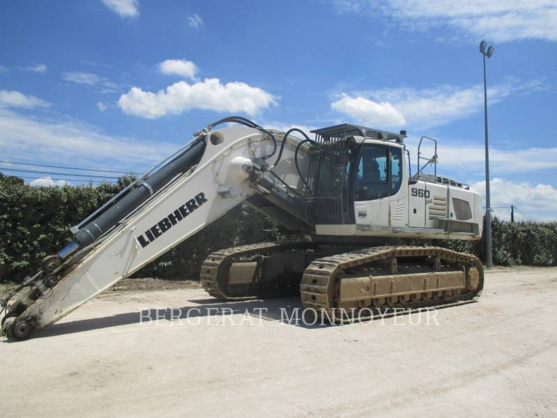 LIEBHERR KETTEN-HYDRAULIKBAGGER R960 equipment  photo 1