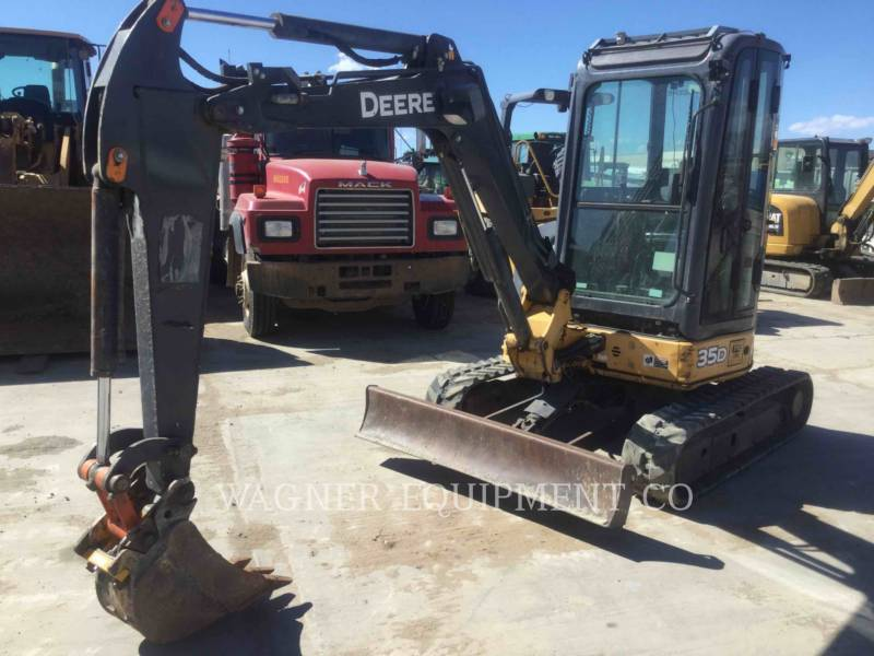 JOHN DEERE KETTEN-HYDRAULIKBAGGER 35D equipment  photo 1