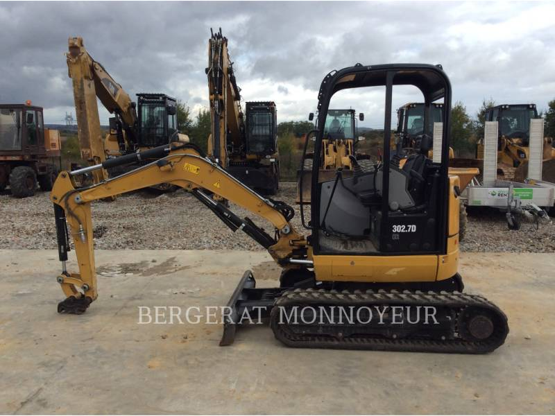 CATERPILLAR ESCAVADEIRAS 302.7D CR equipment  photo 1