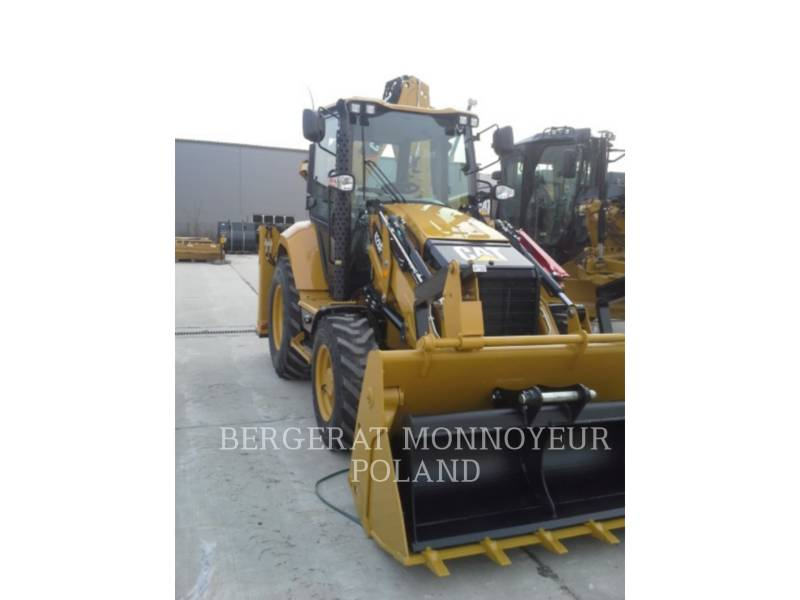 CATERPILLAR BAGGERLADER 428F equipment  photo 1