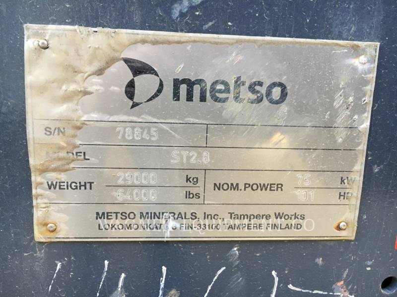 METSO KRUSZARKI ST2.8 equipment  photo 5