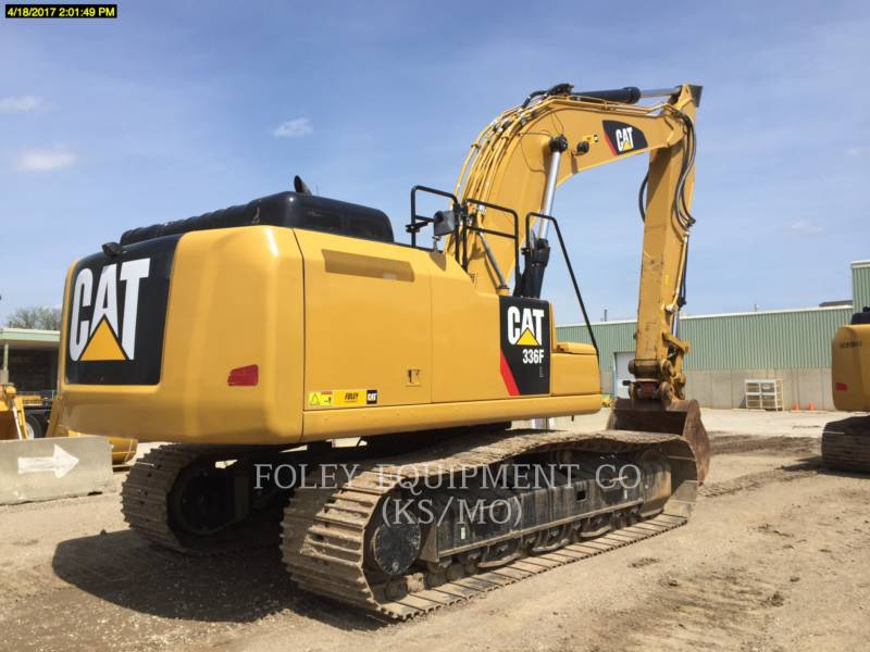 CATERPILLAR TRACK EXCAVATORS 336FL12 equipment  photo 3