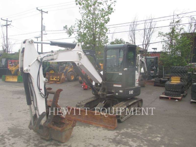 BOBCAT TRACK EXCAVATORS E42 equipment  photo 1