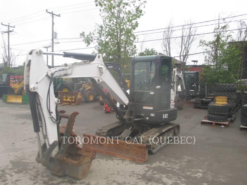 BOBCAT TRACK EXCAVATORS E42 equipment  photo 1