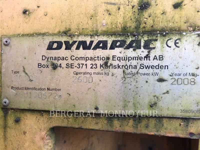 DYNAPAC VERDICHTER CC122 equipment  photo 2