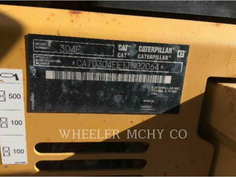 CATERPILLAR ESCAVADEIRAS 304E C1 equipment  photo 16