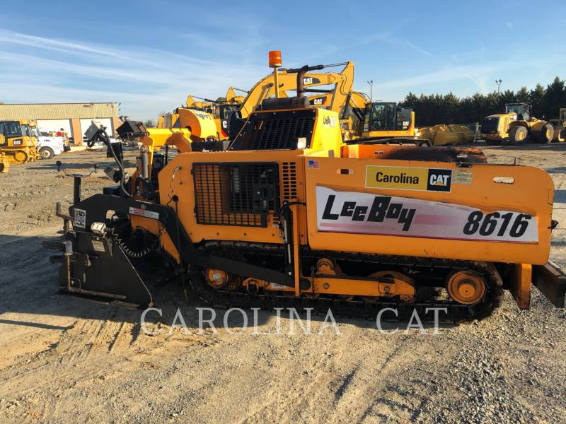 LEE-BOY PAVIMENTADORA DE ASFALTO 8616 equipment  photo 2