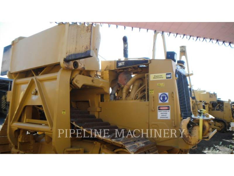 CATERPILLAR ROHRVERLEGER 587T equipment  photo 2