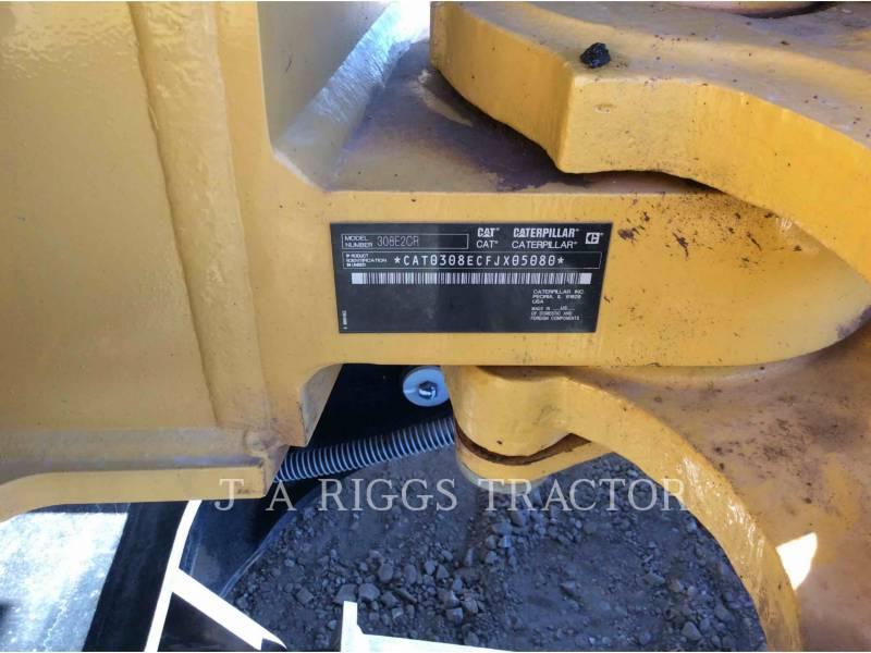CATERPILLAR KETTEN-HYDRAULIKBAGGER 308E equipment  photo 9