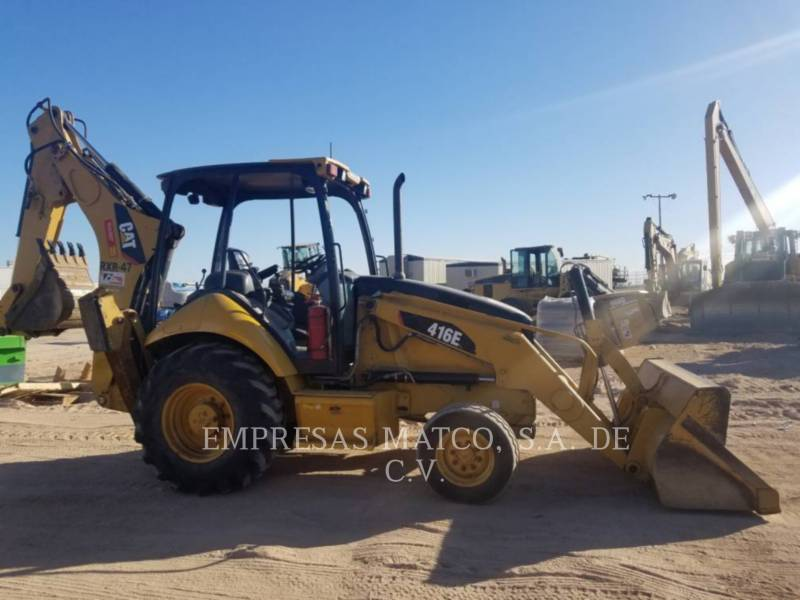 CATERPILLAR CHARGEUSES-PELLETEUSES 416E equipment  photo 2