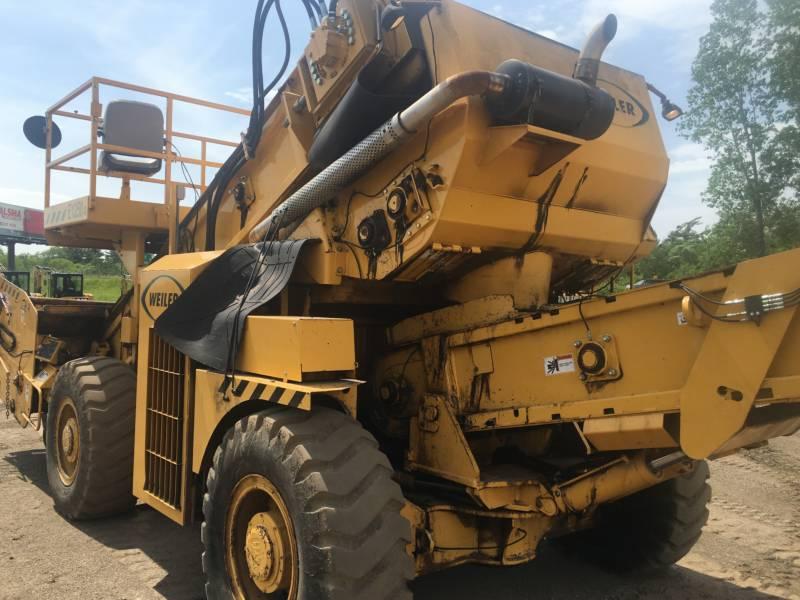 WEILER ASPHALT PAVERS E1250A equipment  photo 2