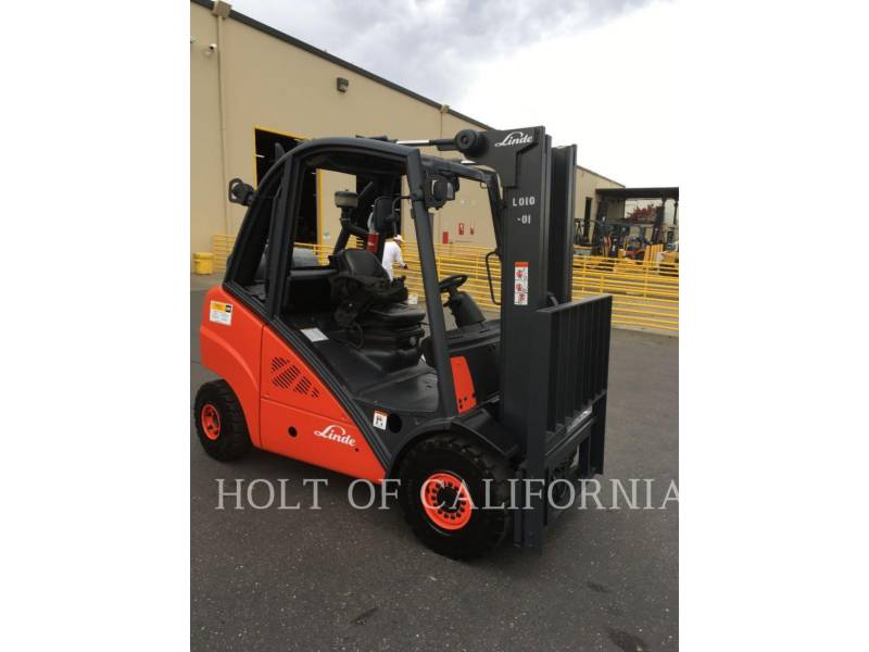 LINDE FORKLIFTS H30T equipment  photo 4