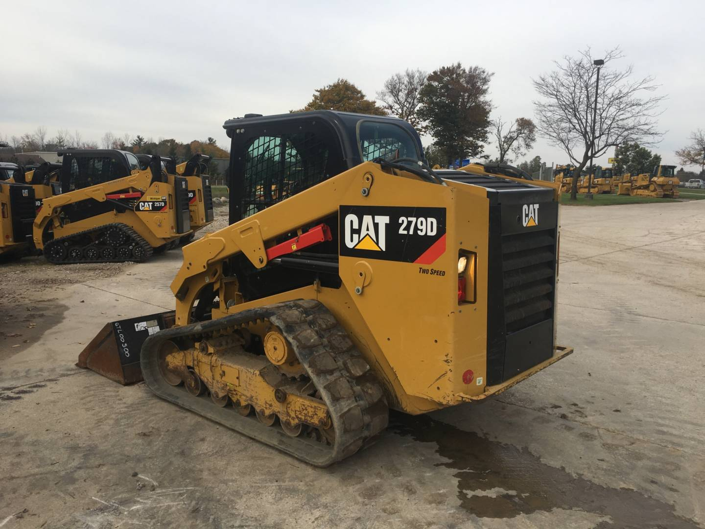 Used 2014 Caterpillar 279d For Sale Whayne Cat