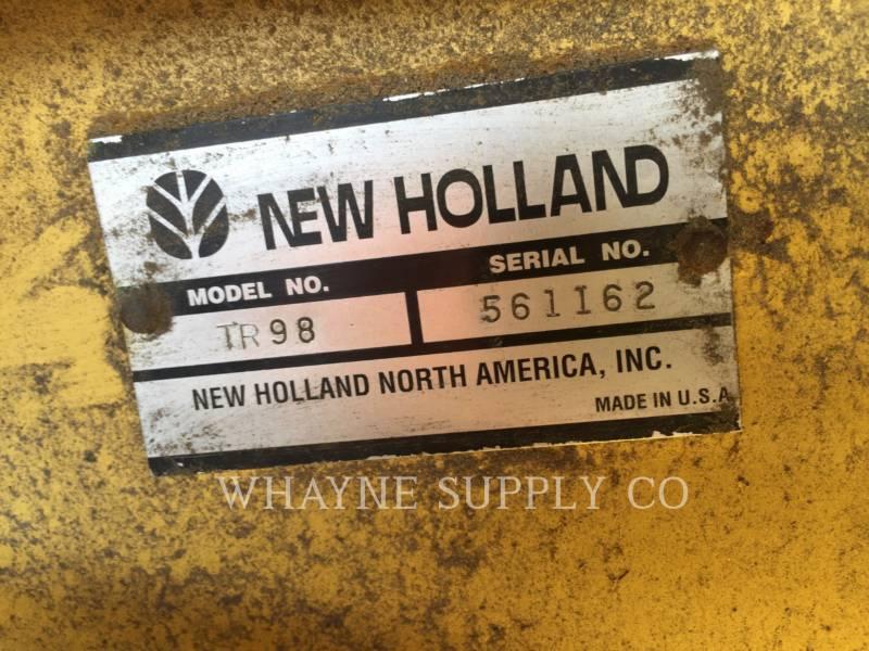 NEW HOLLAND LTD. COMBINADOS TR98 equipment  photo 15