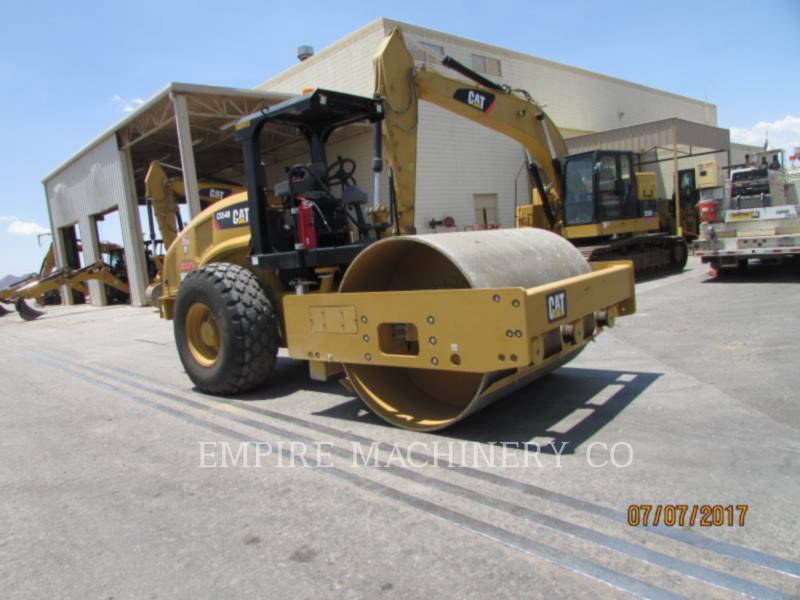 CATERPILLAR COMPACTEUR VIBRANT, MONOCYLINDRE À PIEDS DAMEURS CS54B equipment  photo 4