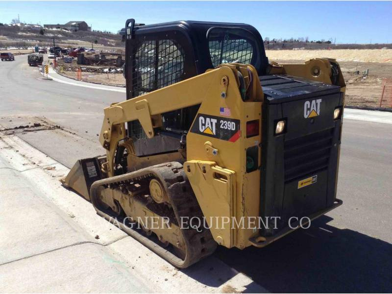 CATERPILLAR MINICARREGADEIRAS 239D equipment  photo 4