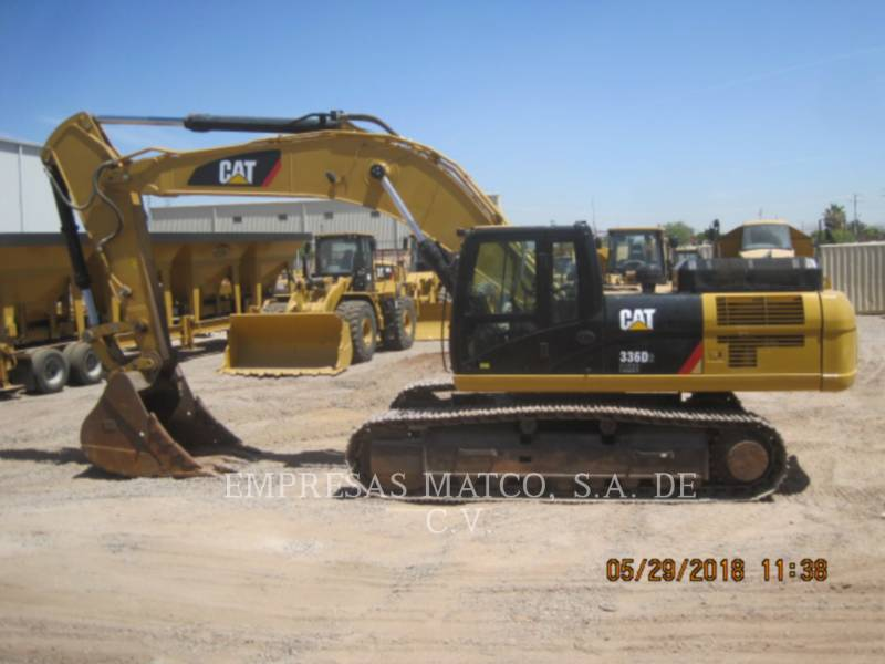 CATERPILLAR TRACK EXCAVATORS 336D2L equipment  photo 3