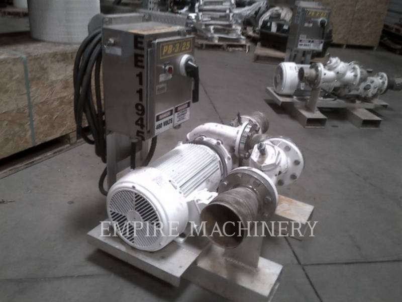 MISC - ENG DIVISION HVAC : CHAUFFAGE, VENTILATION, CLIMATISATION (OBS) PUMP 25HP equipment  photo 1