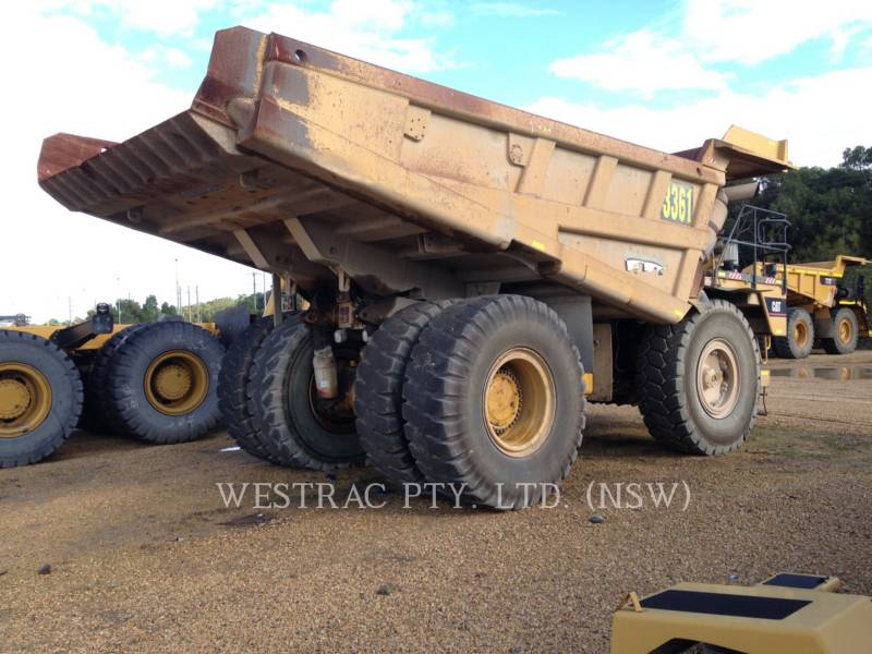 CATERPILLAR STARRE DUMPTRUCKS 775E equipment  photo 7