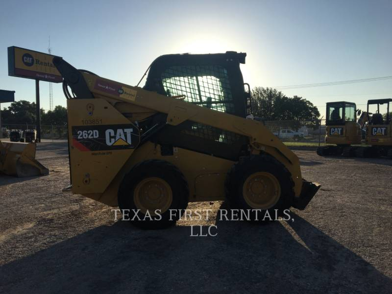 CATERPILLAR KOMPAKTLADER 262 D equipment  photo 2