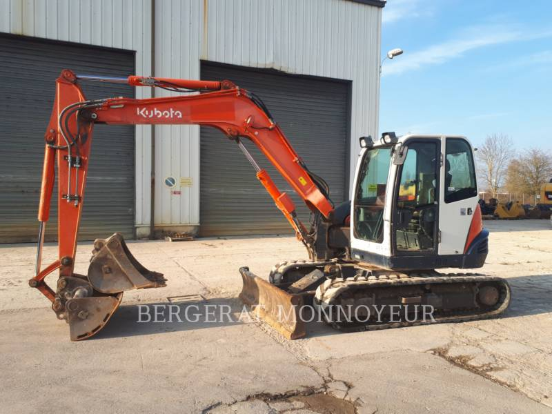 KUBOTA TRACTOR CORPORATION ESCAVATORI CINGOLATI KX080.3 equipment  photo 1